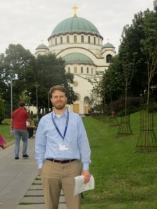 St. Sava's Cathedral, Belgrade, one of the largest Orthodox churches in the world.