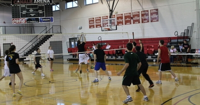 Last April's Volleyball Game
