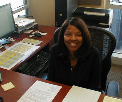 Tamika Johnson, Administrative Assistant for the School of Sciences