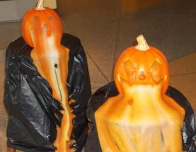 Foaming Pumpkin demo from last year's Chemistry Week events.