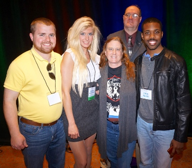 Elton Banks,president, Stephanie Allen-Winters, vice president, Zach Winters, and Drs. Randal Price and Malinda Fitzgerald attended.    Picture by Bill Clemente