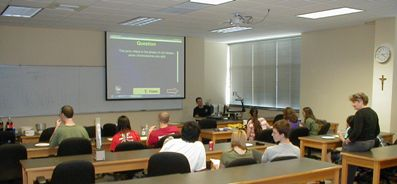 Dr. Varriano is running the Science Trivia contest last fall