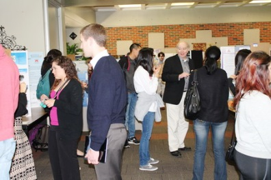 Student Research Poster Session last year (2014).