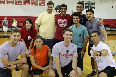 Student volleyball team