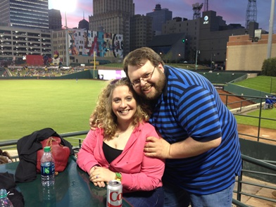Dr. Jessica Morgan with her fiancee.