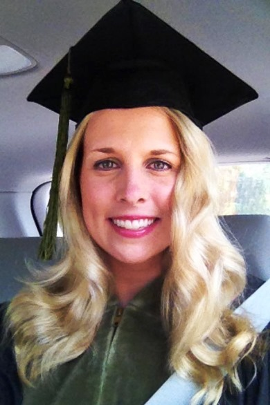 Dr. Brooke Allen at her Pharm.D. graduation