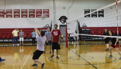 Volleyball game last year (2015)